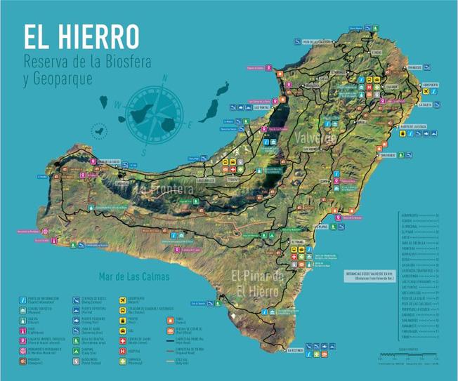 Mapa De El Hierro.Consulta Todos Los Mapas De La Isla De El Hierro El Hierro